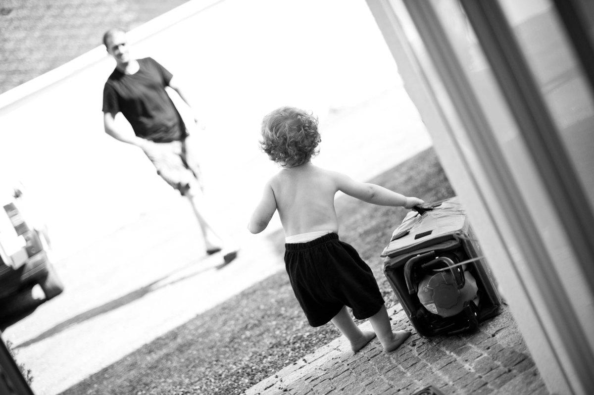 Session photo Papa et fils