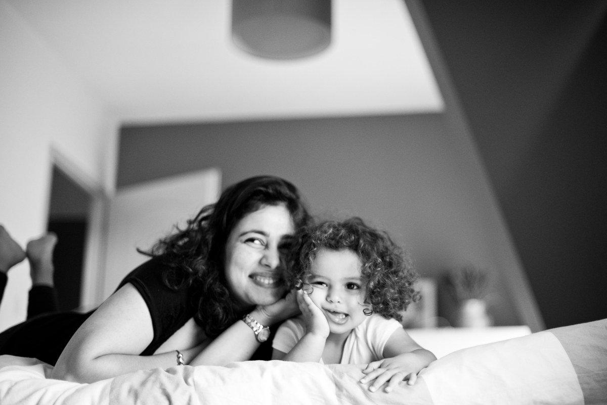 Session photo avec les enfants, à Orléans