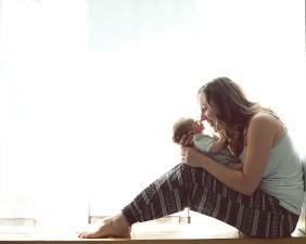 Maman et son bébé, Orléans